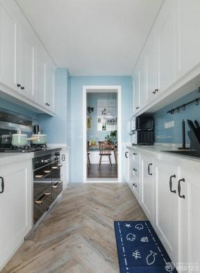 2017北欧风格厨房墙面瓷砖效果图图片