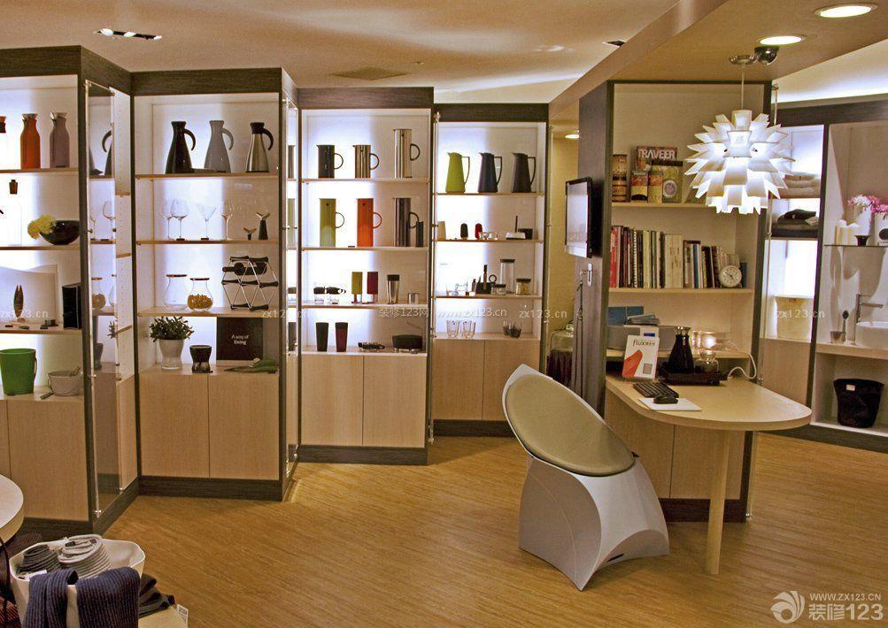 店面室内柜子设计图_装修123效果图