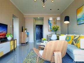 現代美式風格 客廳顏色搭配