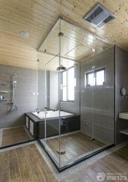 卫生间生态木吊顶装修设计效果图