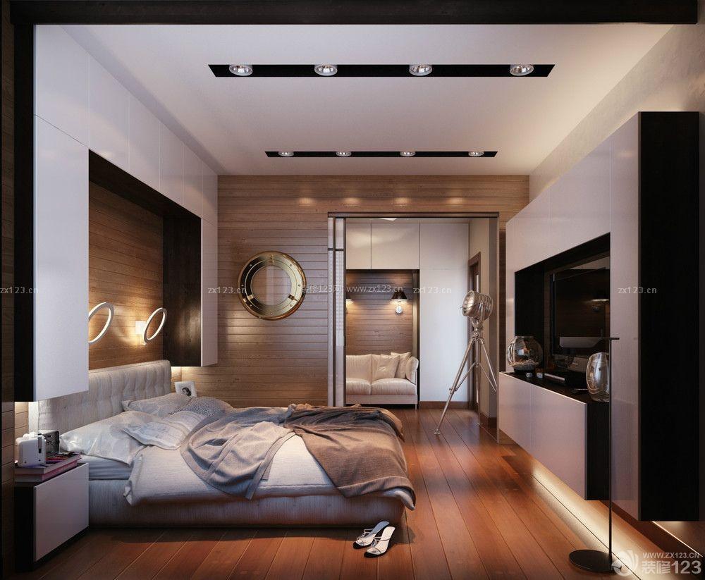 50平米卧室吊顶射灯装修效果图片