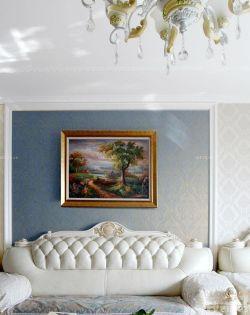 新古典歐式風格客廳裝飾畫