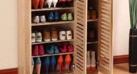 鞋柜选购有技巧 美观与实用两具备