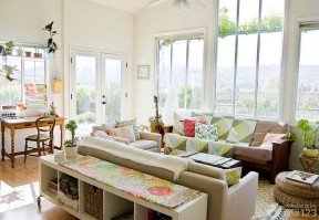 簡約客廳布置 120平米別墅圖片大全