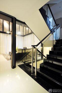 别墅设计室内楼梯扶手装修图片