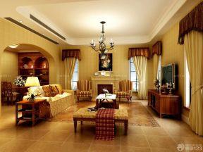 客廳設計 美式田園風格