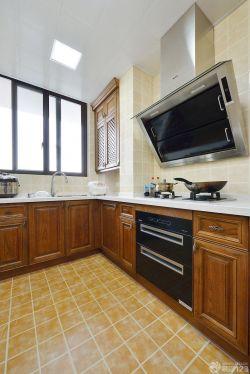 厨房黄色地砖设计图