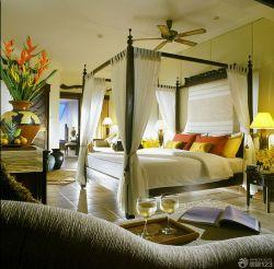 地中海風格臥室家居裝飾設計圖