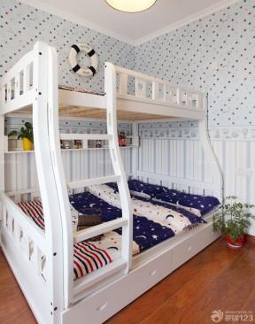 小孩臥室裝修效果圖 高低床裝修效果圖片