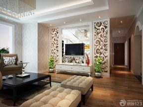 小型客廳吊頂 現代簡約裝修風格