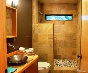 小衛生間實景 衛生間墻磚