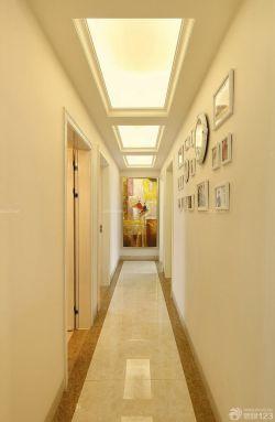 欧式家装走廊吊顶装修效果图