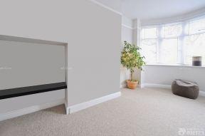 室內簡約風格 白色踢腳線效果圖