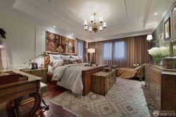 時尚現代美式臥室風格效果圖