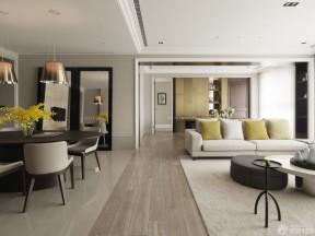現代客廳 客廳過道吊頂效果圖
