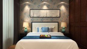 卧室墙纸 现代美式风格