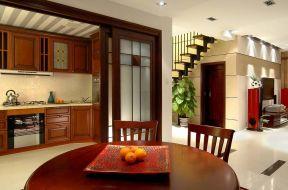 跃层住房 厨房餐厅装修