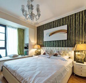 兩居室裝潢臥室床頭背景墻 -每日推薦