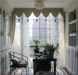 新古典風格書房窗簾裝修效果圖