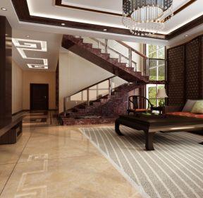 現代中式樓梯設計圖-每日推薦