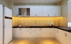 現代簡約風格三居室廚房設計裝修效果圖片