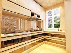 現代風格三居室廚房設計裝修圖片
