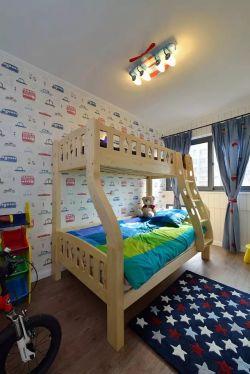 100平米房子兒童房墻紙裝修效果圖