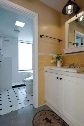 干湿分区卫生间装修效果图 现代时尚装修