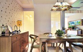 現代風格實木家具 餐廳裝修設計