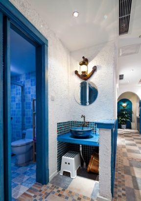 地中海风格装饰设计 洗手间设计