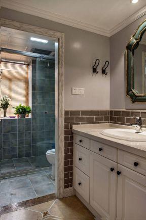 简约美式装修效果图 洗手间设计