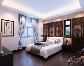 臥室實木家具圖片 現代中式風格