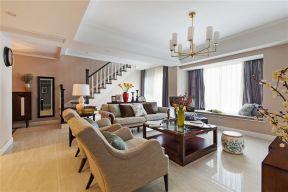 150平米装修效果图 美式客厅装修效果图