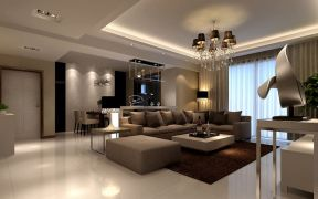 时尚家装设计 室内客厅设计效果图