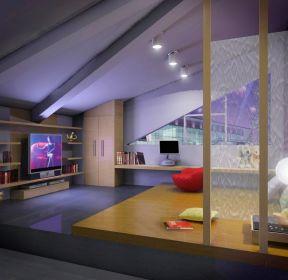 現代室內裝修室內閣樓效果圖-每日推薦