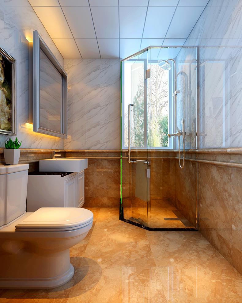 1平米卫生间设计图纸展示