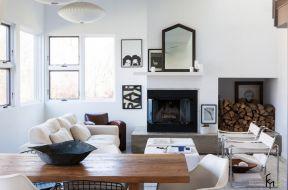 現代美式裝修效果圖 美式客廳裝修效果圖