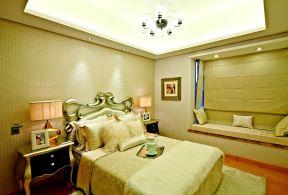 新古典臥室裝修 臥室床的擺放