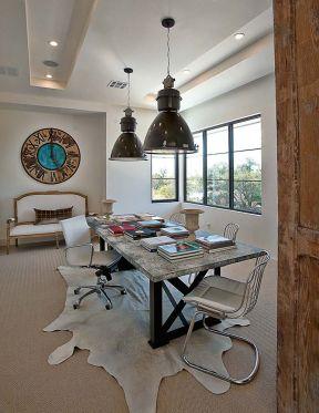 現代美式鄉村風格 書桌設計