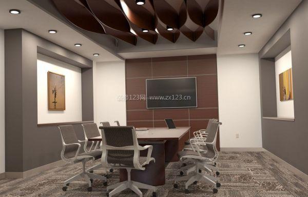 小办公室形象墙装修