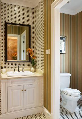 干湿分离卫生间装修效果图 简欧家装风格