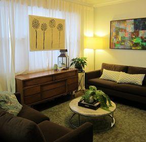 簡約風格客廳小戶型沙發背景墻-每日推薦
