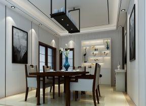 80平方三居室 现代餐厅装修效果图