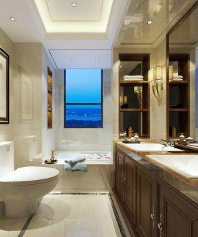 80平方三居室 衛生間浴室裝修圖