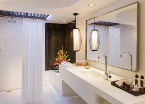 80平方三居室 衛生間裝修圖片大全