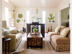 簡約地中海風格小戶型客廳裝修設計