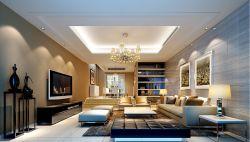 現代簡約客廳沙發背景墻裝飾畫裝修樣板房
