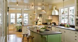 开放式厨房收纳攻略 助你打造整洁厨房