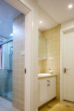 170平米房屋现代风格干湿分区卫生间装修效果图