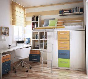 现代简约样板房 经典儿童房设计